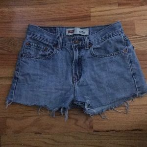 Levi's Denim Cut-off Shorts